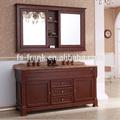 2014 mais novo de madeira estilo americano do armário de banheiro, fabricante de frank
