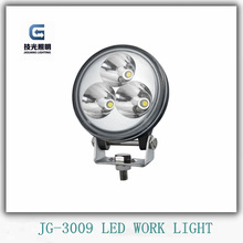 China supplier factory wholesale auto led off road light 9W work lamp JG-3009