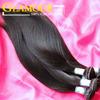 wholesale price new arrival virgin Peruvian hair straight human hair weft