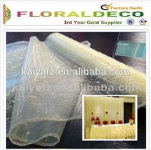100% Nylon Organza 40cm*10yard Wedding Christmas Decoration Flower Wrapping Material