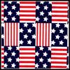 wholesale 2014 NEW sexy Multiple-color American flag printed tan through swimwear/beachwear/underwear fabric