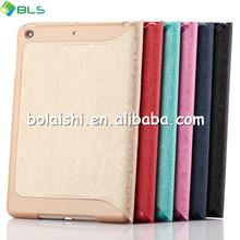 2014 Hot Sale For ipad mini case/smart leather case