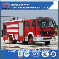 sinotruk 8000l size of fire truck, new fire truck sale, fire fighting truck price