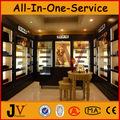 Iluminado perfume armário de exposição de decoração da loja de perfumes/loja de cosméticos