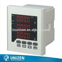 Medidor de corrente digital voltímetro painel