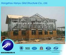 steel structure prefabricated villa housing