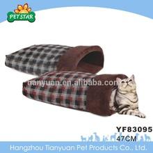 Cheap cute pet dog sleeping bag bed
