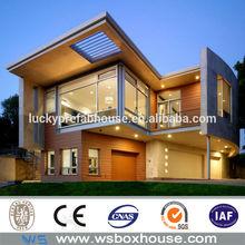 prefabricated villa light steel villa