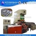 Takeaway embalagem de alimentos recipiente da folha de alumínio que faz a máquina