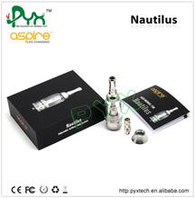 PYX 2014 New arrive Adjustable Airflow System bdc aspire nautilus 5ml clear pyrex glass tube atomizer andy skype-sale2645