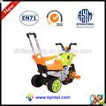 tres ruedas recargable bicicleta de los niños con el mango