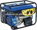 2 kva generador de la gasolina, arranque eléctrico del generador de gasolina, generador de la llave de arranque