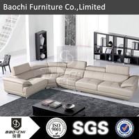 Baochi modern corner sofa lorenzo leather sofa malaysia P601