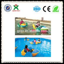 Fiberglass/Plastic material hand paddle boat kids hand paddle boat QX-083D