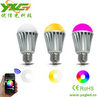 Factory Price wifi bulb led 7.5W RGBW Remote Control Light Lamp for iOS Android - Wifi Bulb
