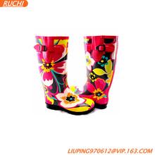 Russia winter rain rubber boots for women/RC7962