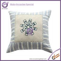 18683 2014 Latest design linen plain natural linen cotton decorative cushion cover