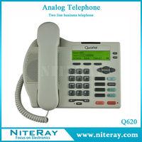 Weatherproof telephones with two analog lines