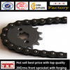 sprocket and chain small,motorcycle timing chain,aluminum sprocket