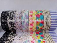 fast peeling DIY Washy masking tape adhesive tape