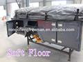 rongcheng venta caliente suave del piso de la tienda camping remolque plegable para los fabricantes