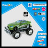 Hot sale green car kid toy friction power toys cars
