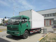 cheap 2-3Tons Dongfeng box van truck/dry cargo box truck van/mini box van truck for dry cargo and drink