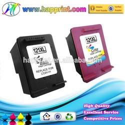 Inkjet Cartridge for Printer for Hp 121 Black Color Inkjet Cartridge for Hp121 Hp121XL CC641HE CC644HE Inkjet Cartridge Refill