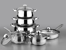 Luxury Induction Stainless Steel Casserole
