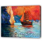 Sea Ship Painting