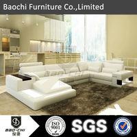 High quality sectional corner sofa leder sofa C1125