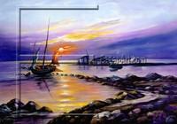 Sunrise Landscape Oil Painting