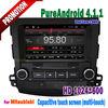 "HD 8"" Capacitive touch screen AUX Bluetooth car dvd gps navigation outlander"
