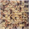 gradient color glass mosaic art pattern glass mosaic