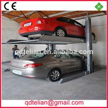 PTJ201-27 advanced double deck parking/ two post carport/ 2 storey car stacker parking lot