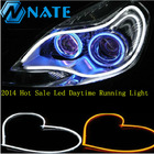 Universal Flexible DRL Led Strip,Flexible Led DRL/ Daytime Running Light 60cm white and yellow