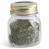 glass kitchenware/glass cruet/glass spice bottle with lid/glassware