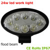 New car parts auto accessories 24w Epsitar 8 led work lights 12v with one year warranty