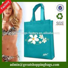 colorful custom nonwoven tote bag