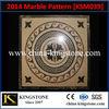2014 Waterjet Marble Tile Floor Medallions KSM039