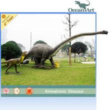 huge life beautify animatronic dinosaur