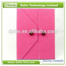 Orignal Folio Design Portable Leather Case For iPad 2