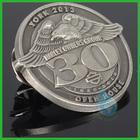 2014 3D eagle metal badge pin/antique 3d lapel pins badge manufacturing