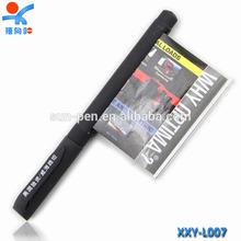2 in 1 stylus custom black banner pen