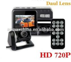 OBOE Dual Lens 720P CAR DVR Safety Guard I1000 camera