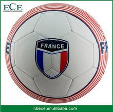 custom print new design approved quality size 5 deflated street soccer ball