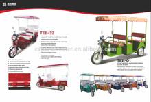 2015 NEWEST electric passenger rickshaw etrike 3 wheels bike 48v 750w india market