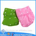 babyshow venta caliente lavables reutilizables etiqueta privada pul impermeable de bolsillo pañales para adultos bragas