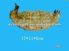 glazed ceramic animal sea horse shape ashtray