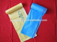 draw string garbage bag on roll